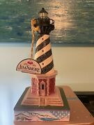 Lighthouseheartwood Creek Jim Shore Lights Up 9 T X 4 1/2 W New With Tag