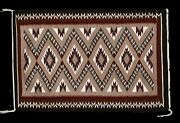 Genuine Lucy Kee Hand Woven Teec Nos Pos Traditional Navajo Rug