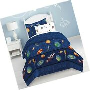 Dream Factory Kids 6-piece Complete Set With Bedskirt Easy-wash Super Soft Co...