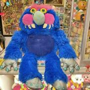 My Pet Monster Stuffed Toy Sound 2009 55 Cm Blue Used