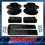 2 Front + 1.5 Rear Full Leveling Lift Kit For 94-01 Dodge Ram 1500 4wd 4x4