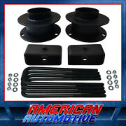 2 Front + 2 Rear Full Leveling Lift Kit For 94-01 Dodge Ram 1500 4wd 4x4
