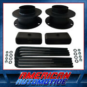 2.5 Front + 1.5 Rear Lift Kit For 94-01 Dodge Ram 1500 Spacers Blocks 4wd 4x4