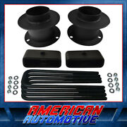 3 Front + 1.5 Rear Lift Kit For 94-01 Dodge Ram 1500 Spacers + Blocks 4wd 4x4