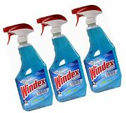 Windex Powerized Glass Cleaner With Ammonia-d 32 Oz. Trigger Spray Bottle P...