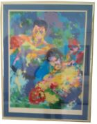 Muhammad Ali - George Foreman Zaire Limited Edition Serigraph By Leroy Neiman