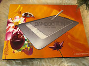 Wacom Bamboo Cth661 Fun Pen And Touch Usb Touch Drawing Graphics Tablet