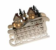 Clever Creations Wooden Christmas Advent Calendar Countdown To Christmas Le...