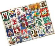 White Mountain Puzzles Christmas Stamps, 1000piece Jigsaw Puzzle