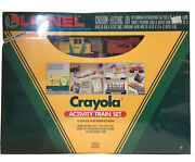 Lionel Vintage New Old Stock Crayola Activity Train Set 027 Gauge Made In Usa