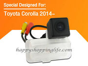Ccd Rear View Camera For Toyota Corolla 2014 Parking Backup Car Reverse Cameras