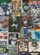 Grab Bag Of 100 Football Cards Each Lot Valued At 60.00 Or More 1970s To