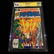 The Defenders 100 Cgc Signed By Al Milgrom