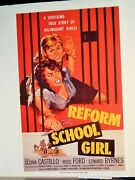 Reform School Girl / She-creature / Unearthly / Not Of This Earth 2000 Vtg Ad