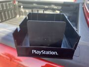 Playstation 2 Ps2 Game Holder Rack Case Retail Cabinet Kiosk Very Rare Authentic