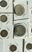 Over 50 Old Us Vintage Coins From Estate Find. 90 Silver Morgan Silver+more
