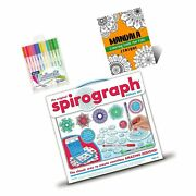 Spirograph Set Deluxe Kit For Kids – Includes Spirograph Deluxe Design Set, M...