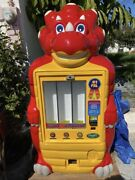 Dave The Dinosaur Toy Vending Machine Great Condition
