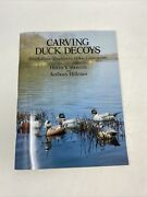 Carving Duck Decoys Full-size Templates For Hollow Construction Shourds Hillman