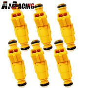 Pack Of 6 For 91-98 Jeep Wrangler 4.0l Fuel Injectors 0280155710