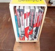 Andy Warholand039s Interview 7 Books In A Wooden Box + 2 Appendix Booklets Set