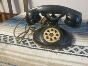 Vintage Antique Stromberg-carlson Table Top Dial Telephone