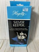 Hagerty 15 In. X 15 In. Silversmiths Cloth Zippered Silver Keeper