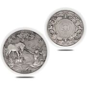 2021 Chad 2 Oz Silver Mermaid And Unicorn Mythical Creatures Coin In Cap Sealed