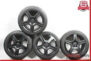 07-13 Mercedes S550 Cl550 Staggered 8.5x9.5 Wheel Rim Tires Set Of 4 Pc R19 Oem