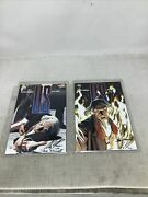 Uncle Sam 1 And 2 Lot Auto Signed Alex Ross And Darnall W/cert Auth Dynamic Forces