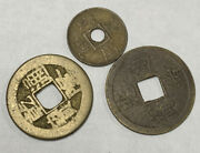 Antique Hole Chinese Coins