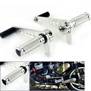 Universal Cafe Racer Rearsets Rear Sets Pegs For Suzuki Gt125 Gt500 Gt550 Gt750