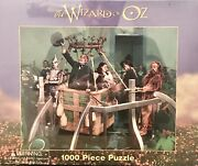 Vtg 1998 Wizard Of Oz Warner Brothers 1000 Piece Sealed Puzzle