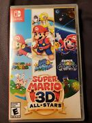 New Sealed Super Mario 3d All-stars - Nintendo Switch