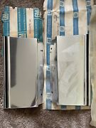 Nos Chevy Caprice 1980 - 1990 Fender Trim Molding Set Front Of Wheel Well