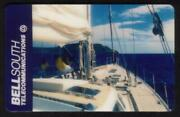 Bellsouth. Yacht Sailing In The Ocean Prototype Phone Card