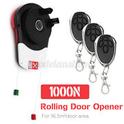 1000n Power 100w Automatic Garage Roller Door Opener Motor And 3 Remote For 16.5mandsup2