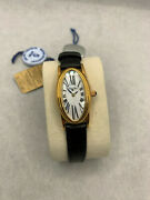 Robert Cox Ladies Rose Gold Mother Of Pearl Face With Leather Band