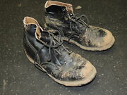 Wwi Rare Combat Shoes With Biltrite Sole And Hobnails