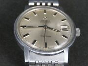 Vintage Omega Geneve 565 24j Stainless Steel Ss Swiss Made Date Auto Mens Watch