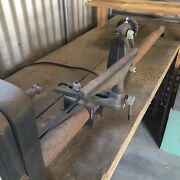 Vintage 12inch Sears Craftsman Wood Lathe With Table