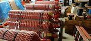 Chemetron Cylinder Tanks Co2 Fire Suppression System Red 100lb