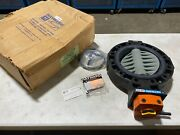 Hayward By442500egm 250mm Butterfly Body And 110mm Butterfly Valve Mastergear Nos