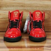 Adidas Top Ten High Menand039s Basketball Shoes Sneakers Red Black Gold Fv5501 All Sz