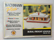 Bachmann N Scale Rural Freight Station Building Kit - Item 35156 - New / Sealed
