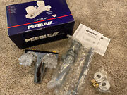 New Old Stock Peerless Two Handle Centerset Bathroom Faucet Model P45-l Chrome