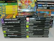 Nec Turbografx 16 Tg16 Cd Games Complete In Box U Pick And Choose Video Game