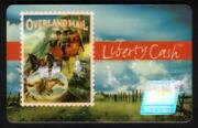 5. Overland Mail Stamp 3rd Trial Series 91106 Exp. 3/31/99 Used Smart Card