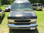 Rear Bumper Without Step Bumper Chrome Fits 94-04 Ford E150 Van 297261