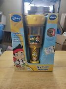 Disney Vtech Jake And The Neverland Pirates Telescope Spy Learn Game New